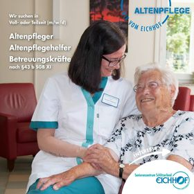 Altenpfleger, Altenpflegehelfer, Betreuungskräfte (m/w/d) nach § 43 b SGB XI in Voll- oder Teizeit