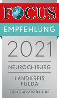 FOCUS Empfehlung 2021 - Neurochirgie Fulda