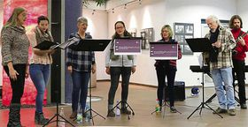 Musikalischer Winterwald im Eichhof-Krankenhaus