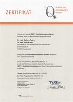 QEP Zertifikat