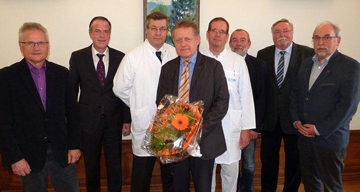 Wolfram Mißler (4. von links) verstärkt zukünftig das Team der Inneren Medizin/Kardiologie
