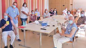 In der letzten Sitzung des Corona-Krisenstabes am Krankenhaus Eichhof ließen sich bereits Chefärzte, Stations-, Bereichs- und Funktionsleitungen sowie der Betriebsrat gegen Influenza impfen.