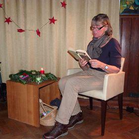 Vorleserin Brigitte Glocke