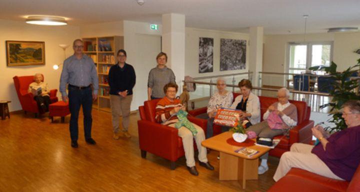 Neuer  Emporenbereich im Seniorenzentrum Schlitzerland