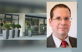 Tobias Plücker, Chefarzt Innere Medizin/Kardiologie und Hygieneverantwortlicher Arzt in der Eichhof-Stiftung in Lauterbach.