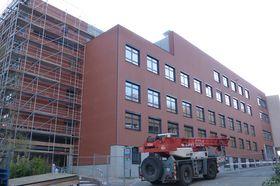 Fassade des kernsanierten Gebäudes
