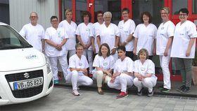 Die Mitarbeiterinnen und Mitarbeiter der Sozialstation Schwalmtal freuen sich über die neuen Räumlichkeiten.