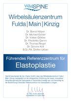 Zertifikat - Führendes Referenzzentrum für Elastoplastie