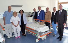 Krankenhaus Eichhof eröffnet Überwachungszentrum im Neubau