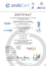Zertifikat EndoProthetikZentrum Lauterbach