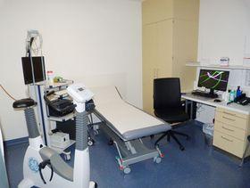 Funktionsräumlichkeiten der Kardiologie