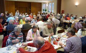 Das alljährliche Fest des ambulanten Pflegedienstes der Eichhof-Stiftung Lauterbach erfreut sich großer Beliebtheit.