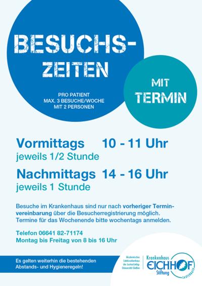 Krankenhaus Eichhof - Besuchszeiten