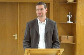 Der evangelische Pfarrer Johannes Wildner hielt eine eindringliche Andacht.