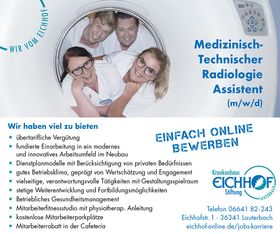 Medizinisch-Technischer Radiologie Assistent (m/w/d)