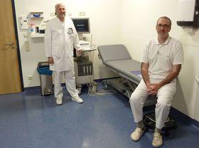 Modern ausgestattet sind die neu eingerichteten Behandlungsräume der Urologischen Gemeinschaftspraxis.