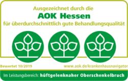 Ausgezeichnet durch die AOK Hessen