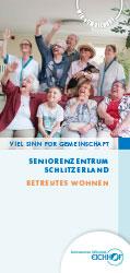 Flyer Seniorenzentrum Schlitzerland