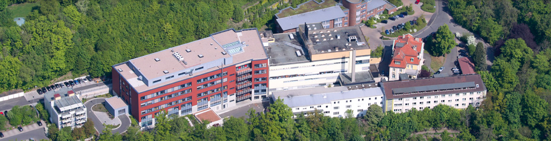 Eichhof Krankenhaus - Luftaufnahme